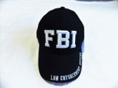 FEDERAL BUREAU INVESTIGATION ( FBI ) EMBROIDERED BASEBALL CAP